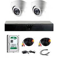Комплект видеонаблюдения CoVi Security ADH-2D KIT + HDD500 (9348) (9348)
