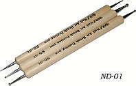 Дотс в наборе деревянная ручка 3шт. в упаковке