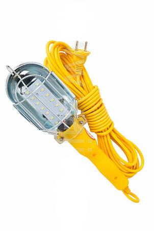 Лампа переносная 12Led, 10м, 220В, фото 2