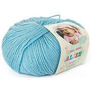 Alize, Baby Wool Світла бірюза 128
