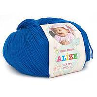 Alize, Baby Wool Ультрасиний 141