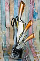 Набор кухонных ножей Kamille 5135 на акриловой подставке 5 пр