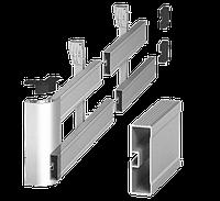 Профиль боковой защиты 100*30mm (алюминий), фото 1