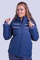Куртка женская лыжная Avecs M Темно-синяя (8629/2 - m)