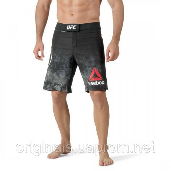 Спортивные шорты Рибок UFC Fight Night Blank Octagon для единобрств мужские CF0319