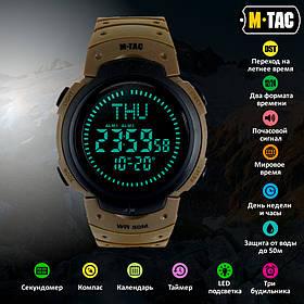 M-Tac часы тактические с компасом койот