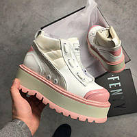 Ботинки Fenty Puma By Rihanna Zipped Pink женские