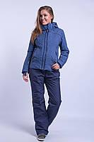 Куртка женская лыжная Avecs M Темно-синяя (8683/2 - m)