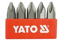 "Набор бит крестовых PH2 5/16"" YATO, 5шт."