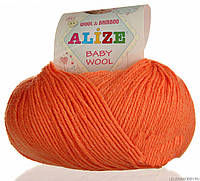 Alize, Baby Wool Апельсин 654