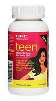 Комплекс витаминов и минералов Form Labs GNC Teen Multivitamin For Girls (120 капсул)