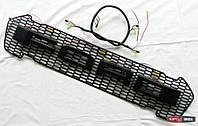 Ford Ranger T7 решетка радиатора LED габариты, LED лого, стиль Raptor