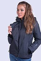 Куртка женская лыжная Avecs XXL Черная (70193 - xxl)