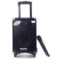 Акустика с микрофоном и акумулятором Q8 (usb/bluetooth), фото 1