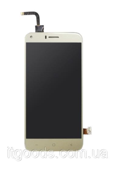 Оригинальный дисплей (модуль) + тачскрин (сенсор) для Bravis A506 Crys