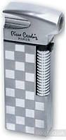 Зажигалка Pierre Cardin для трубок газовая пьезо Серебристый в шашку (MF-21B-27)