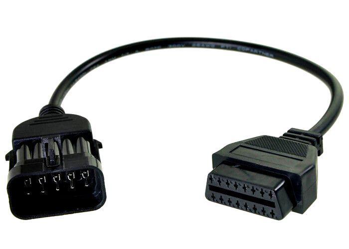 Переходник OBD II - Opel 10 pin Опель обд2 10 пин