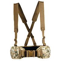 Разгрузочный пояс Tasmanian Tiger Warrior Belt MKII MC multicam  M