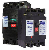 Автоматичний вимикач силовой УКРЕМ ВА-2004N/63 3р 50А АСКО