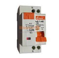 Дифавтомат АД1-40  1 полюс+N  10А  30мА 4,5kA  Electro