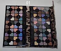 Тени для век FLORRES London Cosmetics 80 color ROM /8