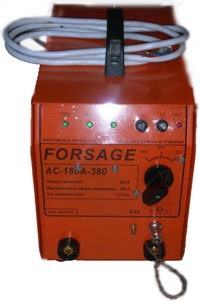 Установка для аргоннодуговой сварки АС-180А-380