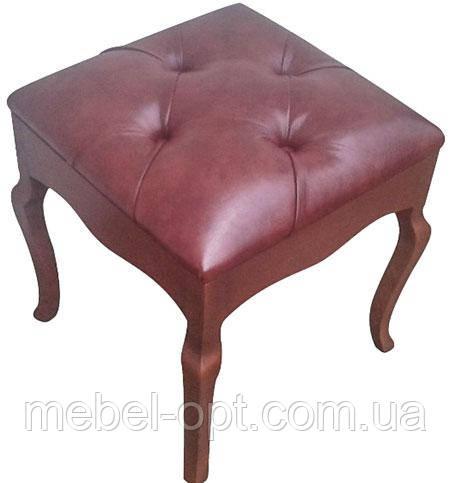 Пуф Сиенадеревянныймягкое сиденье с каретной стяжкой Изготовим любого цвета и размера