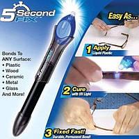 Хороший лазерный клей, ультрафиолетовый клей, жидкий фиксатор,горячий клей 5 Second Fix. Дешево. Код: КГ3249