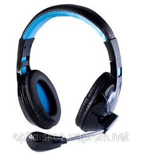 Компьютерная гарнитура HI-RALI, HI-ST9025, синяя, фото 2