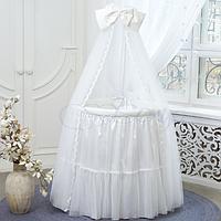 Постельный комплект Ovaldress L'collection белый
