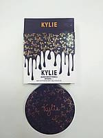 Пудра двойная Kylie (Кайли) Marine-Bright Formula, золото, фото 1