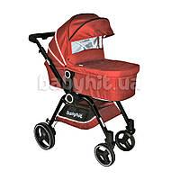 Универсальная коляска 2 в 1 Babyhit Cube Red