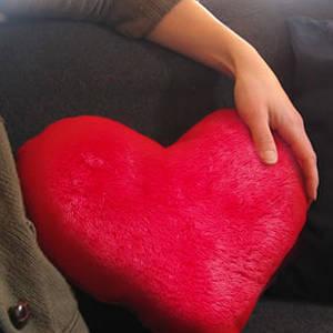 Подушки игрушки, сердца