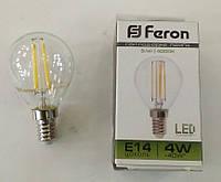 Светодиодная лампа Feron LB-61 Е14 4W 4000K