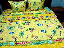 Детское постельное белье Фиксики оптом и в розницу