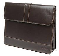 Деловая папка из искусственной кожи 4U Cavaldi PB0805 brown, коричневая