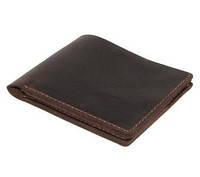 Кожаный кошелек портмоне для денег визиток платежных карт Бордо