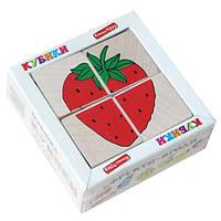 Кубики сложи рисунок фрукты