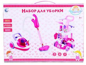 Игровой набор для уборки 5951 с пылесосом на колесах, фото 2