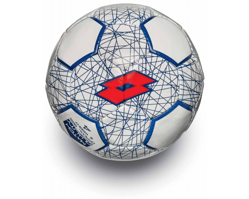 Футбольный мяч BALL FB700 LZG 4 WHITE/RED FLUO