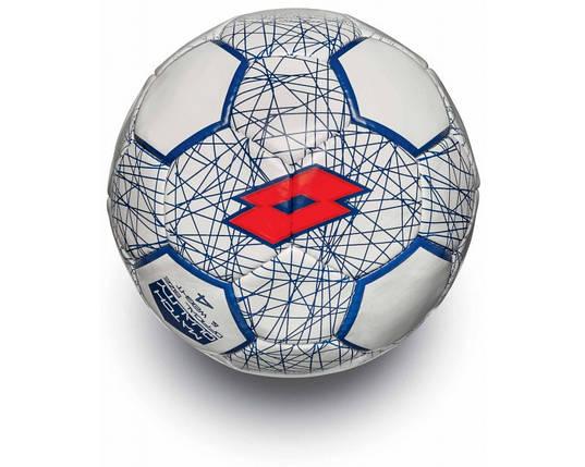 Футбольный мяч BALL FB700 LZG 4 WHITE/RED FLUO, фото 2
