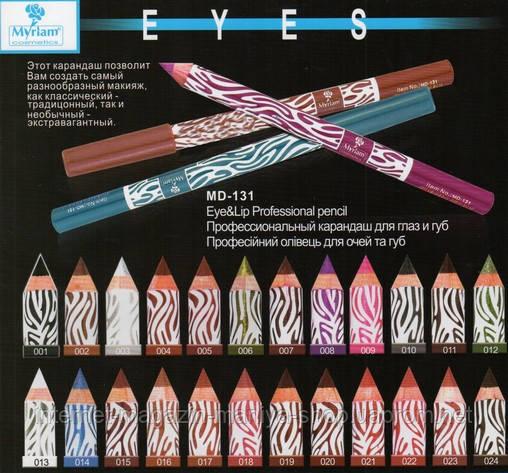 Профессиональный карандаш для глаз и губ