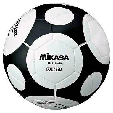 Мяч футзальный Mikasa FLL111-WBK, фото 2
