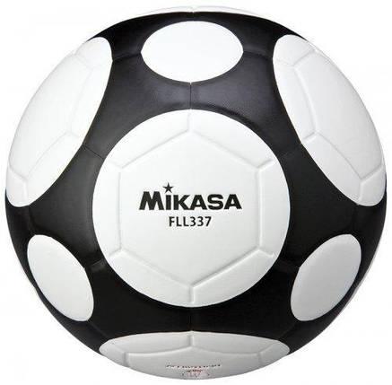 Мяч футзальный Mikasa FLL337-WB, фото 2