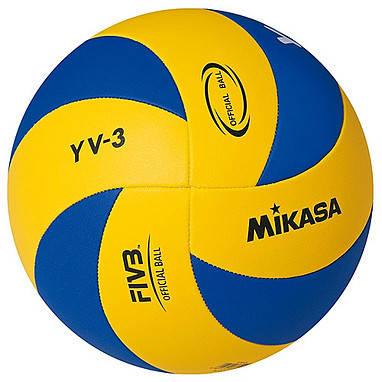 Мяч волейбольный Mikasa YV-3, фото 2