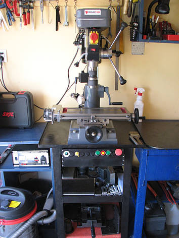 Сверлильно-фрезерный  ZX7016, фото 2