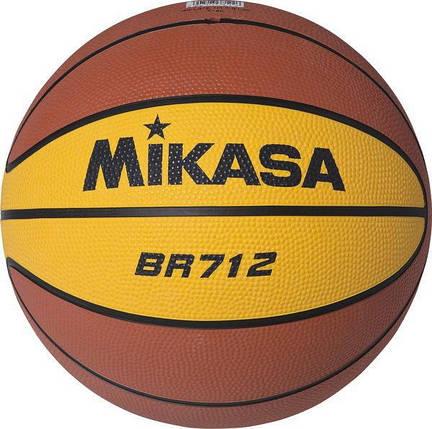 Мяч баскетбольный Mikasa BR712, фото 2
