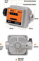 Механічний витратомір для обліку бензину, дизпалива, легких масел - FM-100 (GROZ)