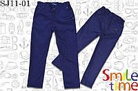 Джинсы для мальчика р.116,122,128,134,140,146 SmileTime Classic, синие