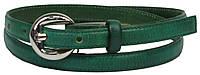Женский кожаный ремешок, Vanzetti, Германия, 100081 зеленый, 1,6х105 см